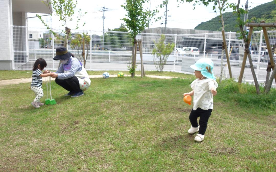 (中央)園庭遊び