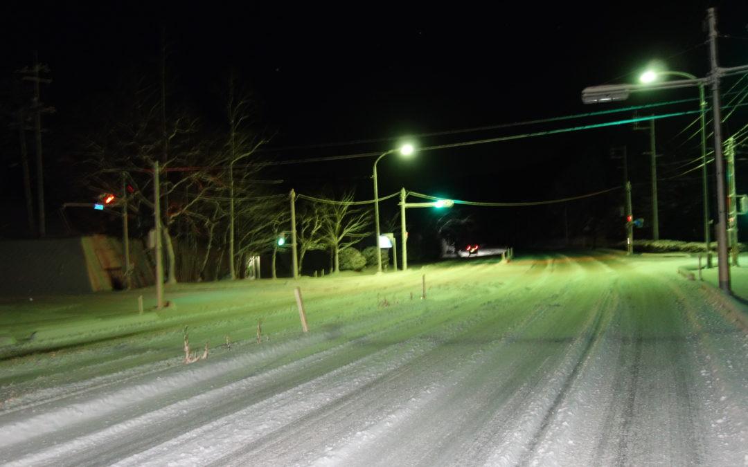 (山口)道路状況について