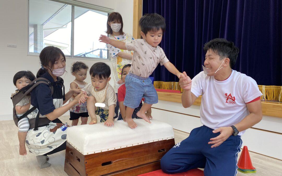 (中央)体操の先生とあそぼ~う!!