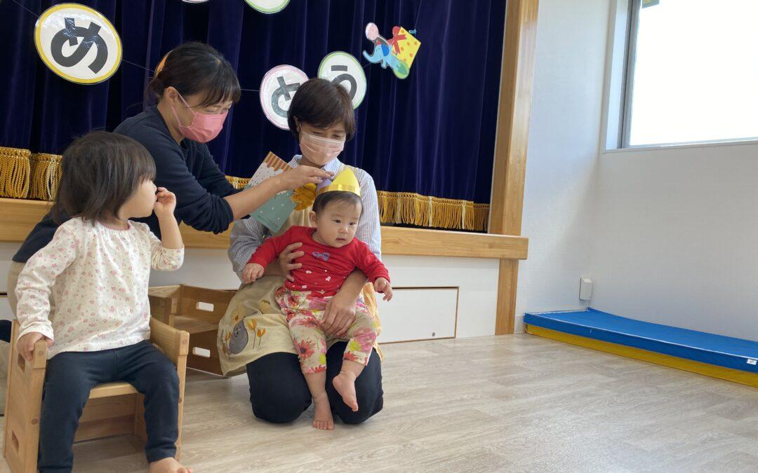 (中央)体操教室とお誕生会